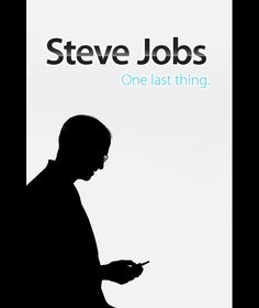 Steve Jobs: One Last Thing - Why it's a must-see: Steve Jobs is an #entrepreneurship poster boy: He's bold, unflinching, inspirational and brilliant. Every entrepreneur hopes to affect our creative and professional culture in the profound way that Jobs did and continues to do. Watch the film, take some notes and apply them to your business immediately.