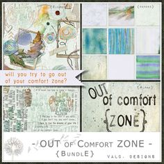 OUT of Comfort ZONE - {Bundle} $6.50