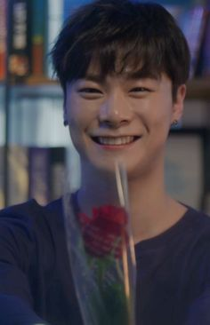 So this is Moonbin my valentine... Yes, I stole him from Eunwoo...