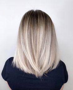 dyed hair for brunettes balayage Blonde Hair Looks, Blonde Hair On Brunettes, From Brunette To Blonde, Sandy Blonde, Hair Color Caramel, Pinterest Hair, Light Hair, Ombre Hair, Ombre Silver Hair