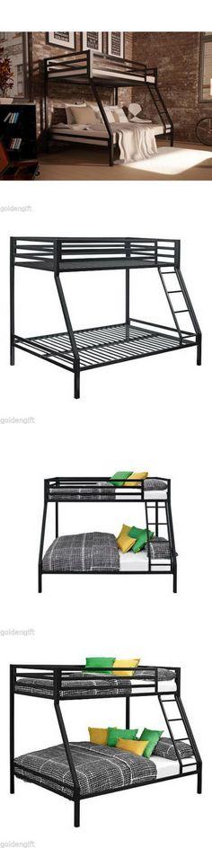 Kids BunkBed Twin Over Full Metal Bunk Bed Furn... - Exclusively on #priceabate #priceabateKidsFurniture! BUY IT NOW ONLY $303.95