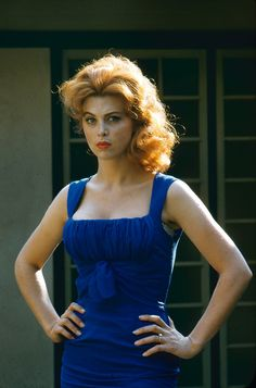 "modbeatnik: "" Tina Louise "" She has perfected the sassy pose right here. Take…"