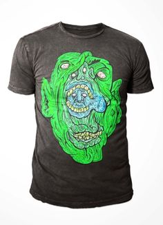 """Jake """"TWO"""" Bresanello. Say no more. Blog post here - http://www.newdroptees.com/blogs/news/5965829-new-designer-submission-jake-two-bresanello #Adelaide #Design #Monster #Art #Illustration #Tee #Tshirt"""
