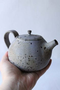anewdawnanewday blue speckled teapot | Flickr - Photo Sharing!