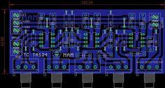 PCB Tone Control NE5532