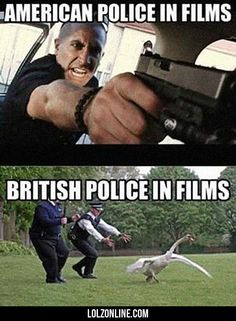 American Police In Film... #lol #haha #funny