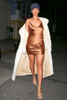 Rihanna leaves Giorgio Baldi Restaurant in Santa Monica