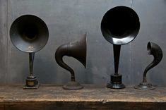 Atwater Kent radio speakers