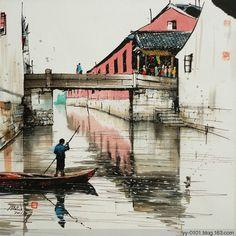 河桥送人处,空带愁归。