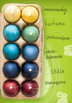 Gondoltad volna, hogy ennyire egyszerű a tojásfestés természetes anyagokkal? #Tesco #TescoHúsvét #Húsvét