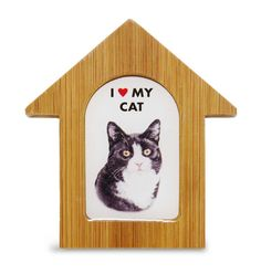 Black & White Cat House Magnet One thing we love is a product line that has…
