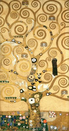 Gustav Klimt - Der Lebensbaum (Mittelteil)
