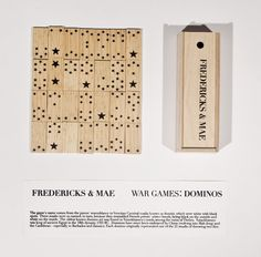 Star Dominos by Fredericks and Mae