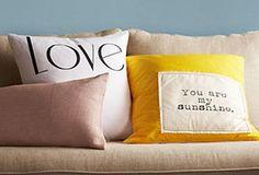 One Kings Lane - Pillow Talk