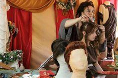 Ornatrix at the work, Roman Hairstylist, Roman reenactors COLONIA IULIA FANESTRIS Ph Roberta Savolini Roman Hairstyles, Couple Photos, Couples, Hair Styles, Couple Shots, Hair Plait Styles, Hair Makeup, Couple Photography, Couple