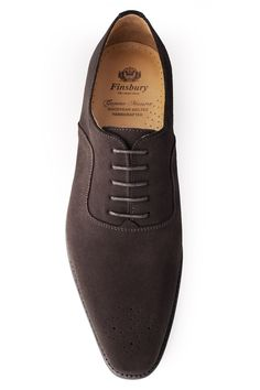 HARLOW Daim Marron - Finsbury Shoes