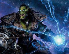 Orc shaman - world of warcraft