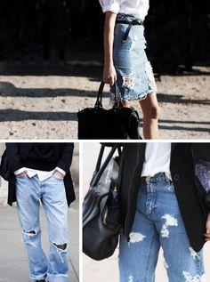Trend Alert: Jeans rasgado