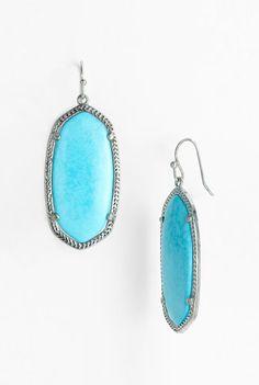 Kendra Scott Elle Small Oval Earrings