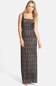 Jill Jill Stuart Venise Lace Column Gown available at #Nordstrom
