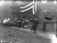 17th of May celebrations in Stongfjorden in the 1900s.