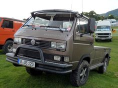 VW 4X4 Syncro pickup.   by Angus McVicar. Thanks for the Million+ Views