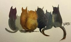 watercolours by Awaisha