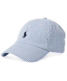 df5976c7e Polo Ralph Lauren Men Seersucker Baseball Cap