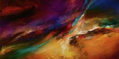 Storm At Sea Print By Michael Lang 48 x 24/