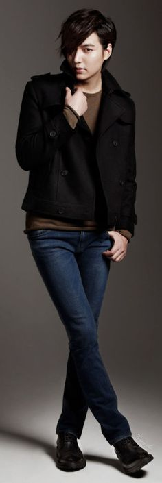 Lee Min Ho's Semir 2013  THAT HAIR! Don't know what to think...