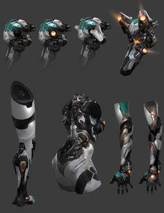 Robot Concept Art, Creature Concept Art, Armor Concept, Space Armor, Robot Cartoon, Arte Robot, Futuristic Armour, Sci Fi Armor, Suit Of Armor