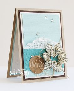 Typeset Specialty DSP, Fun Flower Punch, Dictionary, Happy Hooray, Decorative Dots Textured Impressions Embossing Folder - Inge Groot