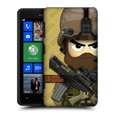 HEAD CASE RM HALF MILITARY BABIES PROTECTIVE BACK CASE COVER FOR NOKIA LUMIA 625