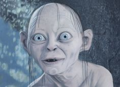 Smeagol, coloured pencils by on DeviantArt Wood Carving Patterns, Coloured Pencils, Gandalf, Little Monsters, Lord Of The Rings, Tolkien, The Hobbit, Artwork, Artist