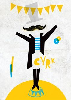 Cyrk - wall-being Circus Poster, Camping Theme, Big Top, Circus Party, Wall Murals, Logos, Illustration, Movie Posters, Pictures