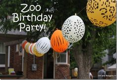 43 Creative Zoo Animal Birthday Party Themes - Tip Junkie