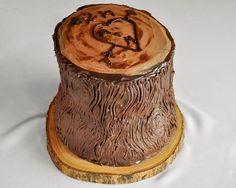 Tree Trunk or Tree Stump Cake Tutorial - Beki Cook's Cake Blog