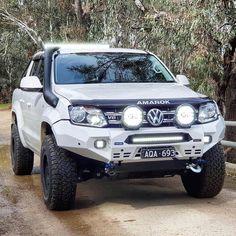 Good VW Amarok for awesome adventure. Vw Amarok V6, The Rok, 4x4 Accessories, Toyota Hilux, Volkswagen Golf, Offroad, Dream Cars, Trucks, Adventure