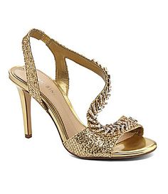 Gianni Bini Vivah Jeweled Front Heels #Dillards