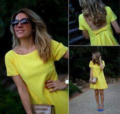 Mónica Sors Mes Voyages à Paris comparte su Look Lady in yellow en Trendtation.