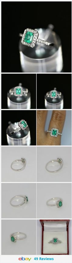 18K white gold ring with 3/4ct Zambian emerald (only oil) WITH VIDEO http://www.ebay.com/itm/18K-white-gold-ring-with-3-4ct-Zambian-emerald-only-oil-WITH-VIDEO-/162199940341?ssPageName=STRK:MESE:IT