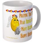 Happy Birthday Mug 4u! Mug  http://www.cafepress.com/lovepositivethinking/9110863