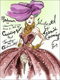 Leonid_Gurevich_Madonna_Dior