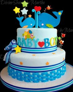 Baby Shower For A Little Boy