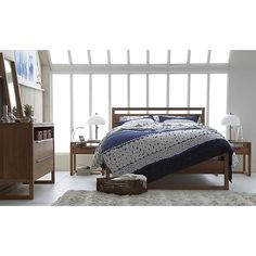 Sereno Hand-Blocked Bed Linens in Make the Bedroom Beautiful ...