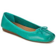 c951358d9  Clarkswomenflatshoe- FRECKLE ICE Turquoise at 15% off- Now £ 60.20 Freckles