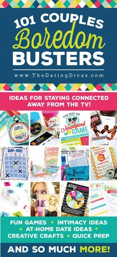 Boredom Busters, Couple Games and Activities - From The Dating Divas