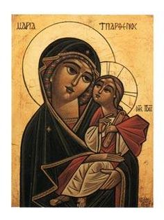 """""""The Most Holy Mother of God prays for us ceaselessly. She is always visiting us. Whenever we turn to her in our heart, she is there. After the Lord, she is the greatest protection for mankind.""""~Elder Thaddeus"""