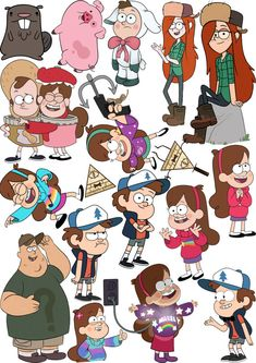 gravity falls stickers - Поиск в Google