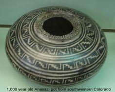 Mesa Verde Pottery - 1,000 year old Anasazi pot from Southwestern Colorado